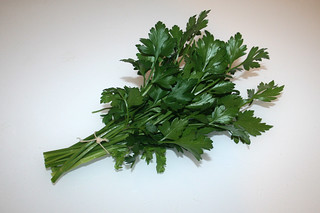 10 - Zutat Petersilie / Ingredient parsley