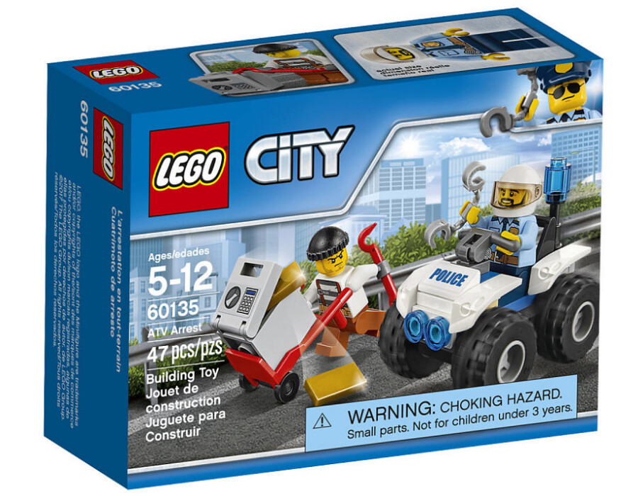 LEGO City 60135 - ATV Arrest
