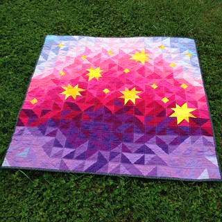 Stardust at Sunrise Baby Quilt | by Sarah.WV