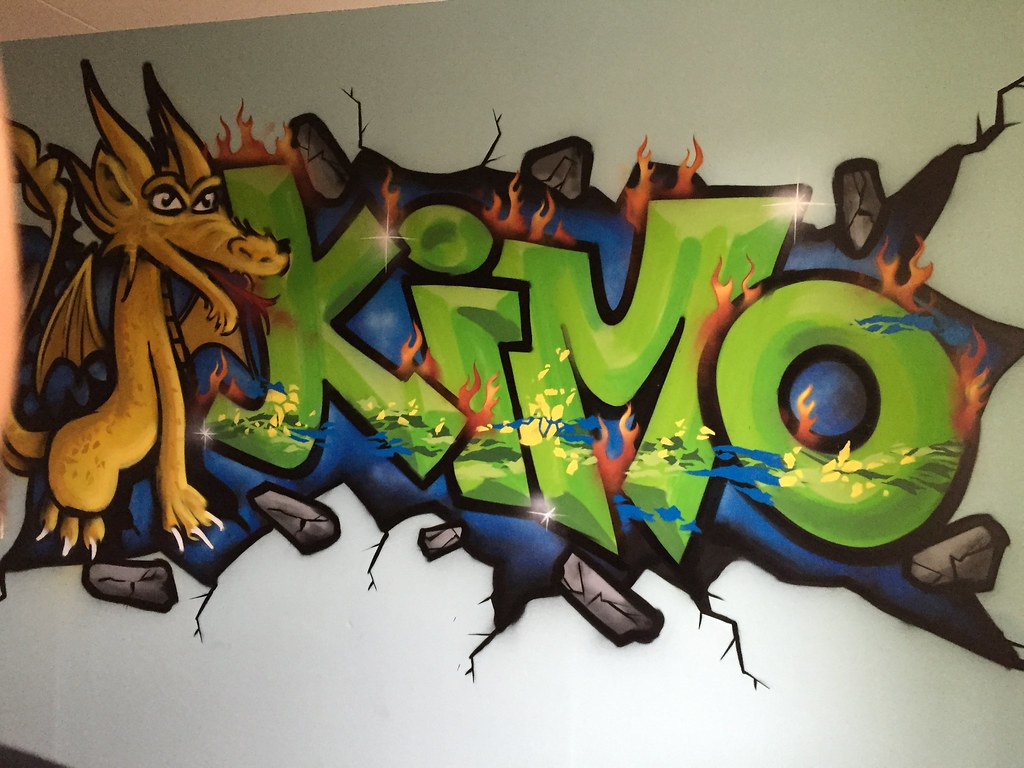 Graffiti Voor Slaapkamer : Graffiti kinderkamer kimo graffiti kinderkamer tim rodermans