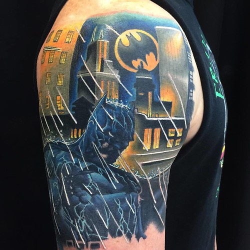 justin batman | by justinstephantattoo44