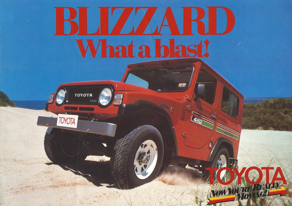 toyota blizzard tin top