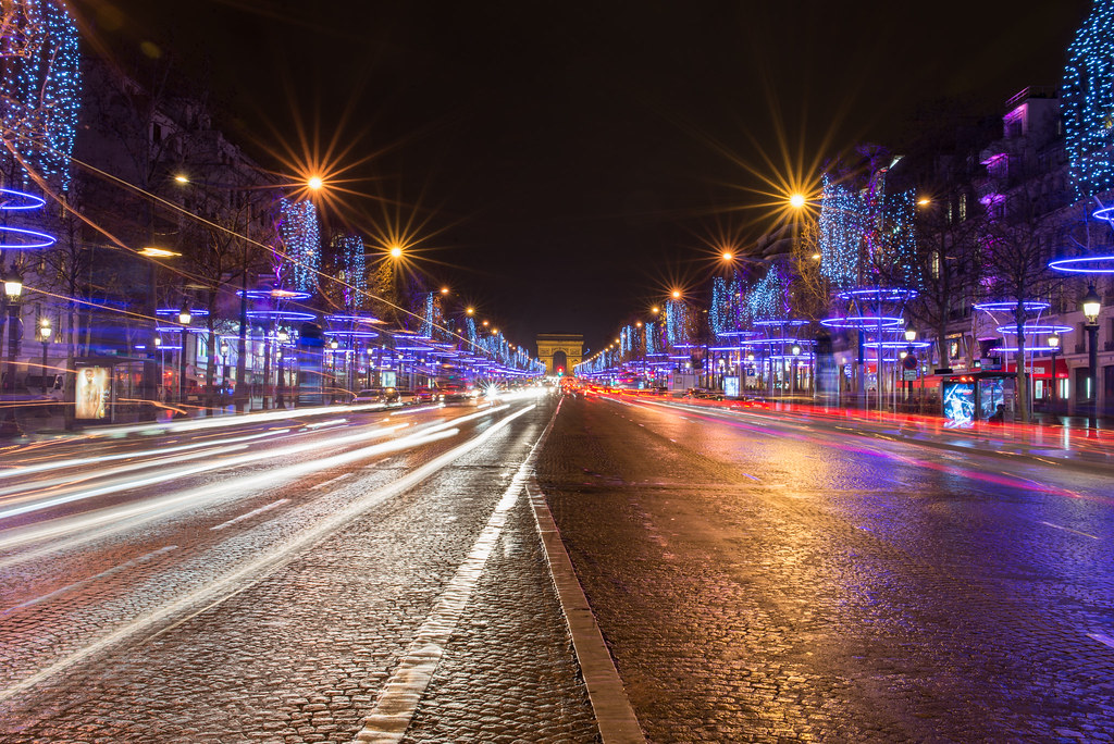 paris france happy new year champs elyses by globetrotter 2000