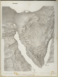 1950s Sinai Peninsula Terrain | by The Central Intelligence Agency