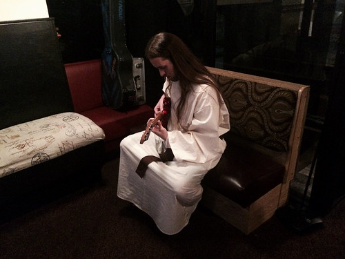 Jesus Playing Guitar (October 31 2015)