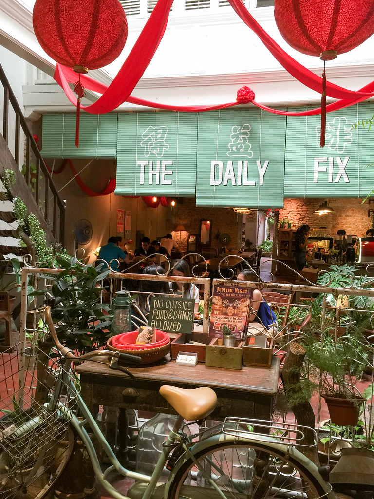 The Daily Fix Cafe entrance