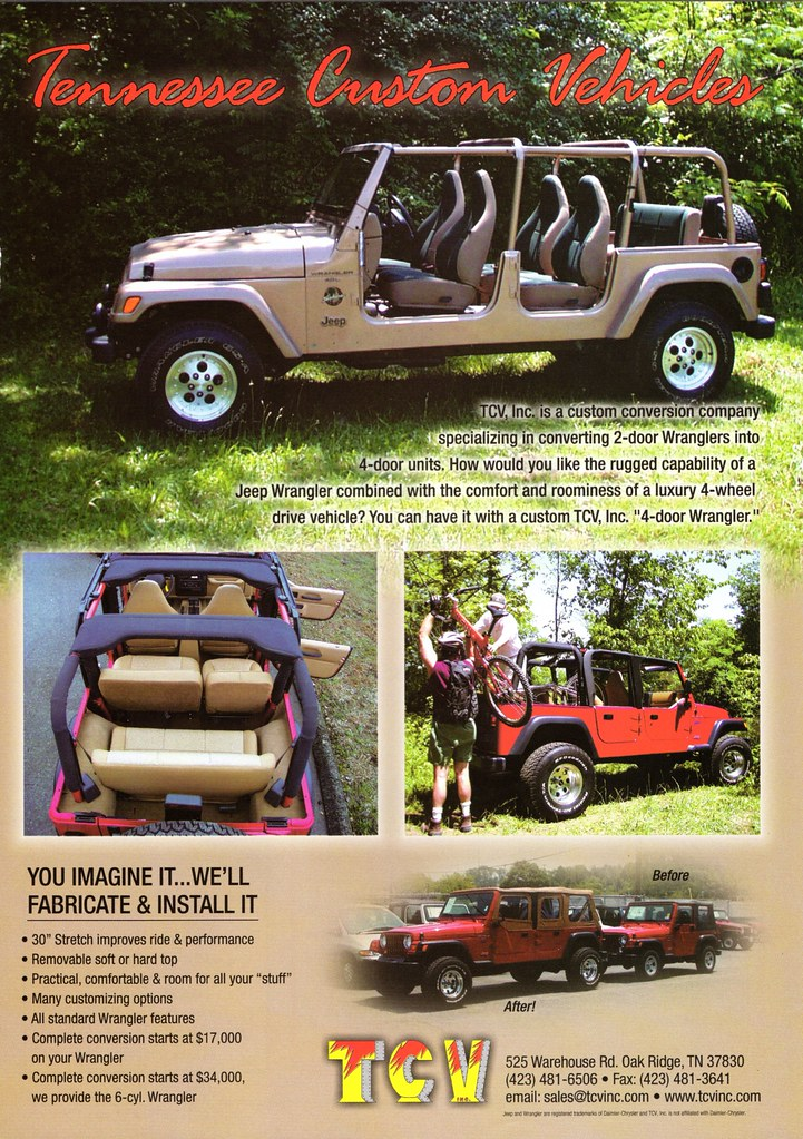 ... 2000 Jeep Wrangler 4-Door Conversion by TCV | by aldenjewell & 2000 Jeep Wrangler 4-Door Conversion by TCV | Alden Jewell | Flickr