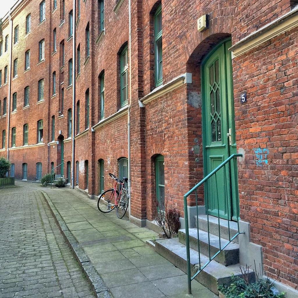 ... This Door At The Jäger Passage Near Wohlwillstraße 22 In Hamburg St.  Pauli Is