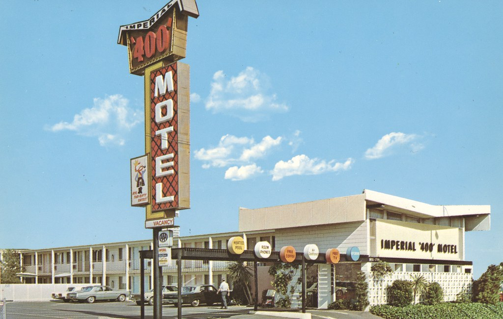 Imperial '400' Motel - San Diego, California