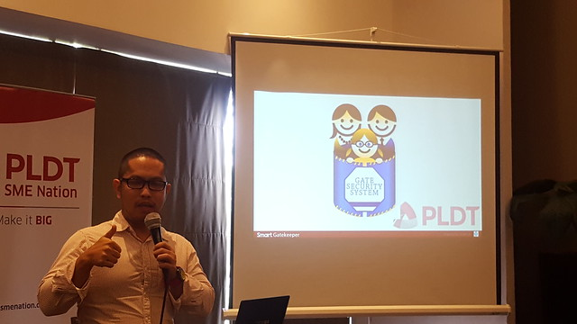 Nspire Managing Director Ren Bustamante | PLDT SME Nation's Smart Digital Campus Launched in Davao City - DavaoLife.com