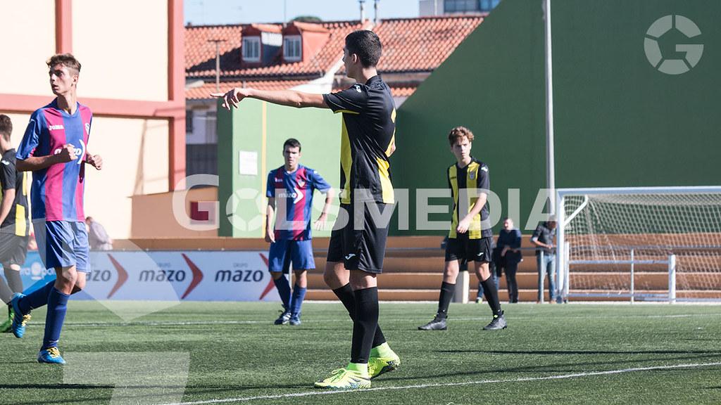 "U.D. Alzira ""A"" 4 - 1 C.D.Roda""A"" Liga autonómica cadete (Carlos Alcalde) J10"