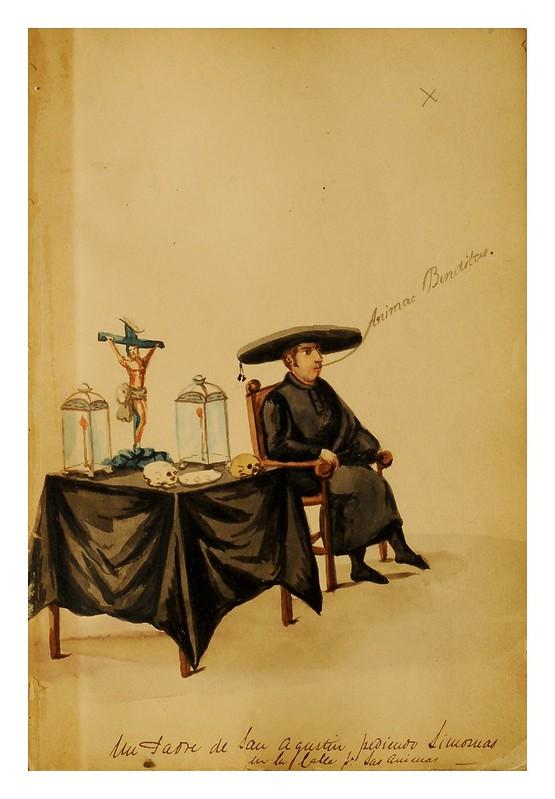 006-Tipos de Lima- Pancho Fierro- 1850-60- Museo de Bellas Artes Argentina.