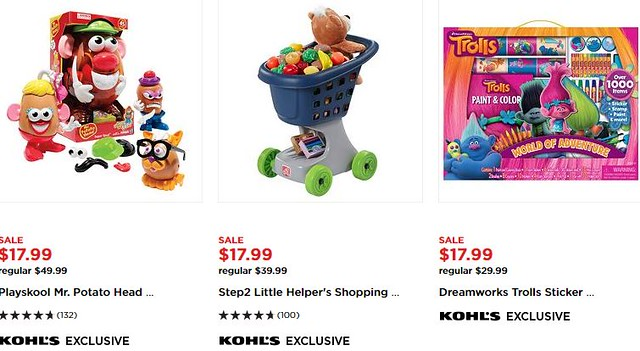 Great Toy Deals at Kohl's