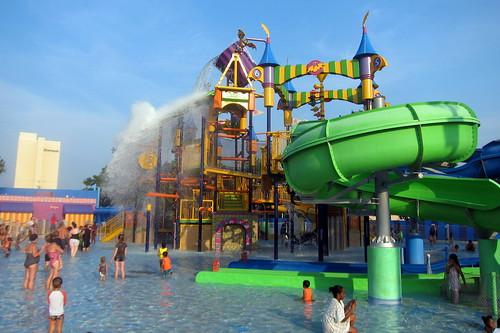 Sesame Place The Count S Splash Castle The Count S