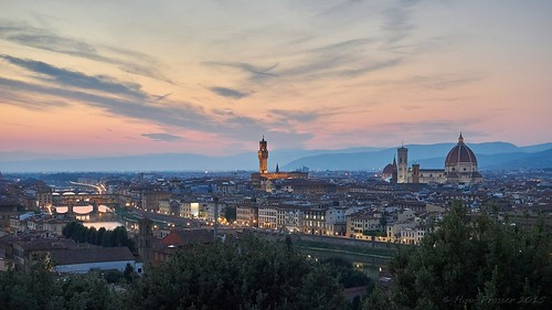 Florence (Firenze) at dusk | by Huw Prosser