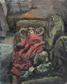 boy & red blanket | by Clive Holloway