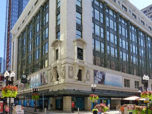 boston ma old filene 39 s building soon to be primark flickr. Black Bedroom Furniture Sets. Home Design Ideas