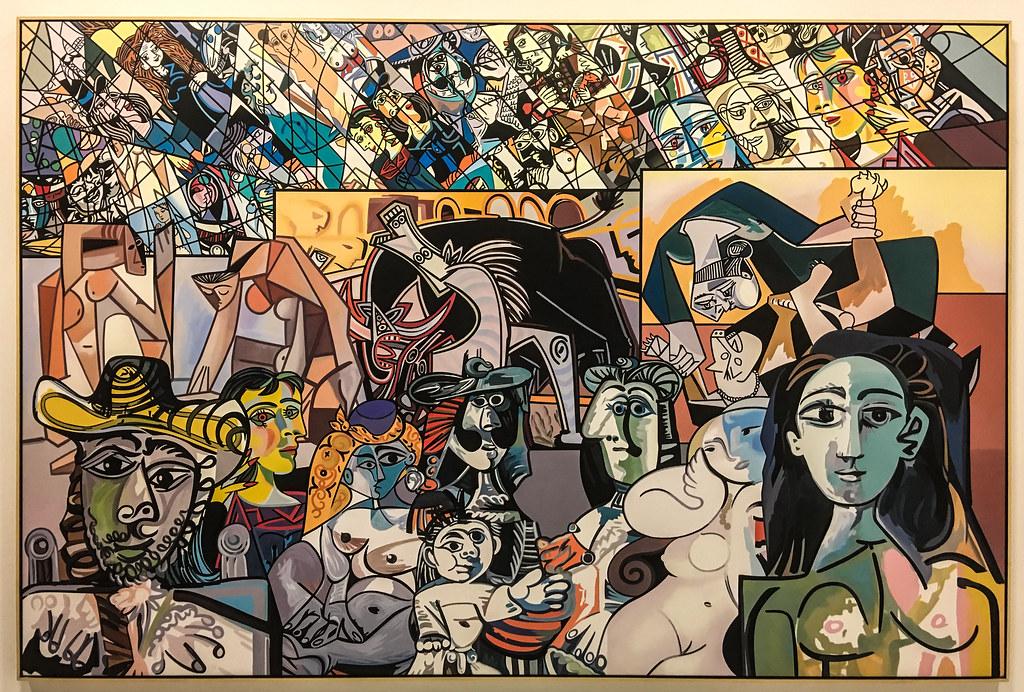 Picasso Melting Point - Le Point de Fusion Picasso - 2014 - Gudmundsson Gudmundur, dit Erró