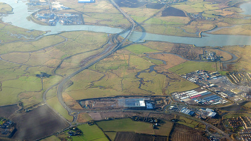 The Swale, Kingsferry Bridge and the the Sheerness branch