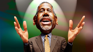 Ben Carson - Caricature | by DonkeyHotey