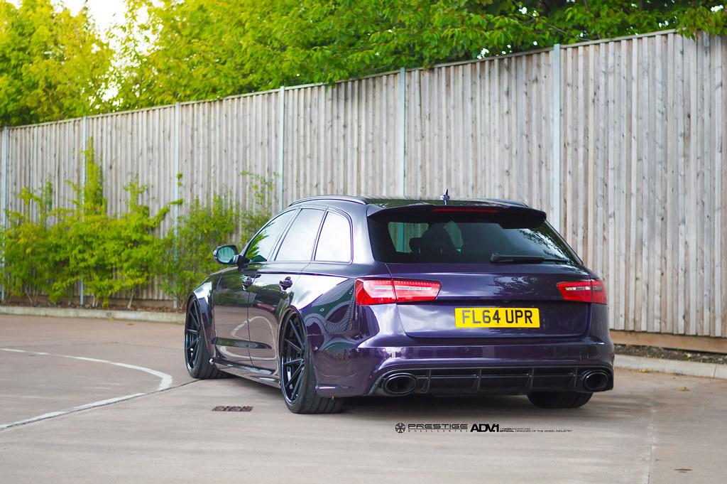 Audi RS6 Avant ADV10 Track Spec SL Series   ADV.1 Wheels is …   Flickr