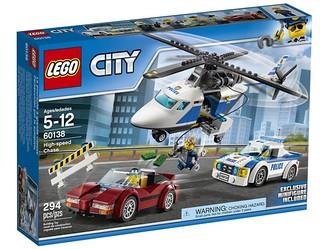 LEGO City High-Speed Chase (60138) box