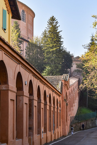 Portico to San Luca, w/San Luca in sight, Bolognaa | by Gwendolyn Stansbury