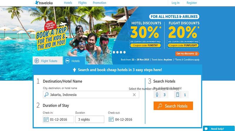 Book Tiket Penerbangan dan Hotel dengan Traveloka!