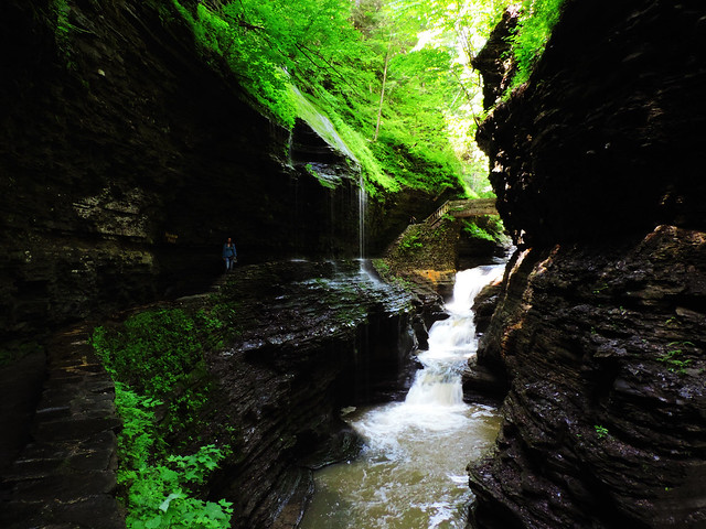 Watkins Glen State Park, New York, USA