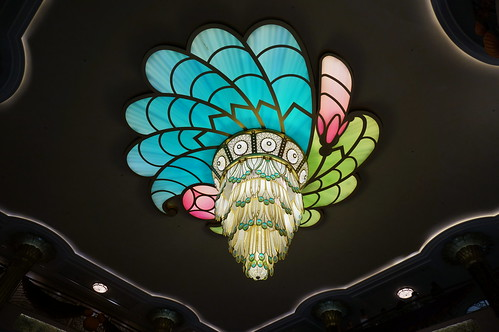 Peacock Chandelier | by Disney, Indiana