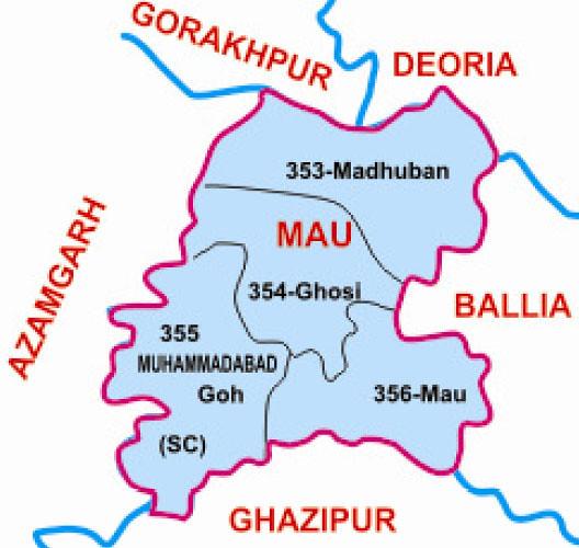Mau district Uttar Pradesh Election 2017