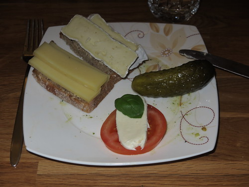 Käse auf Ur-Dinkel-Brot