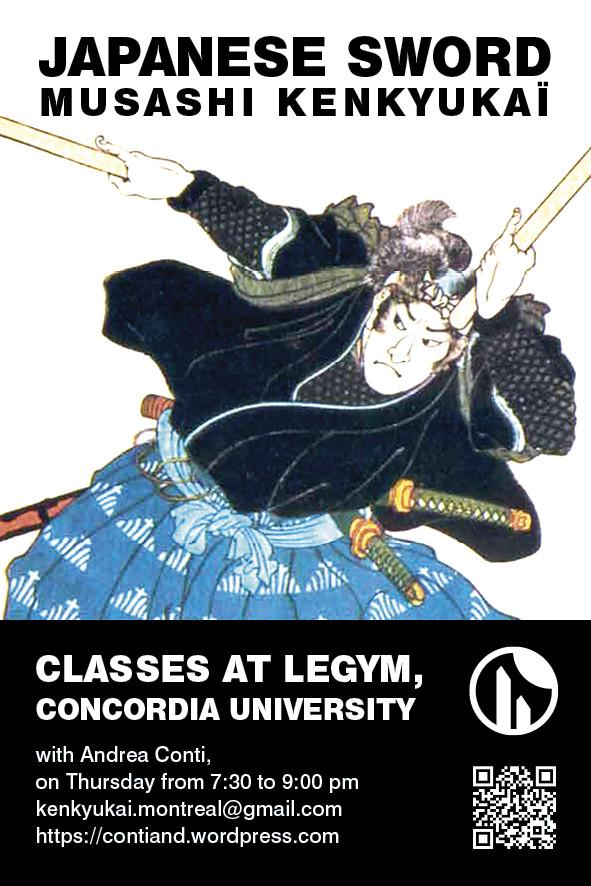 Flyer Musashi kenkyukai Montreal