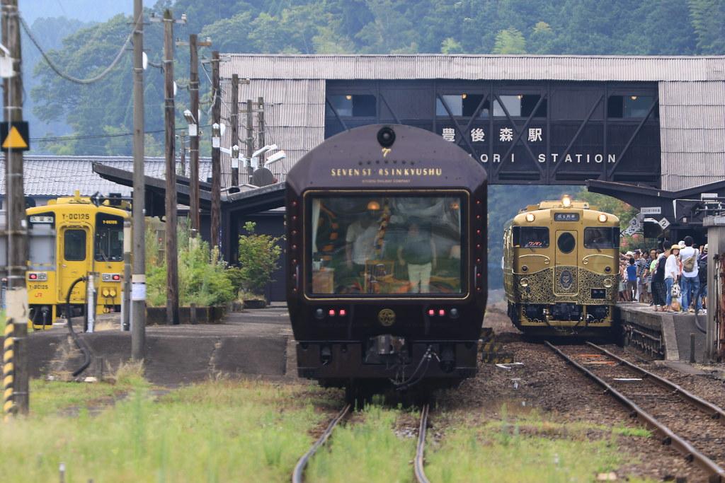 ななつ星 in 九州と或る列車のラ...