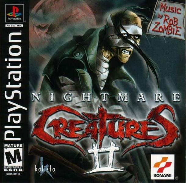 Nightmare Creatures II (USA) PSX ISO | Nightmare Creatures I