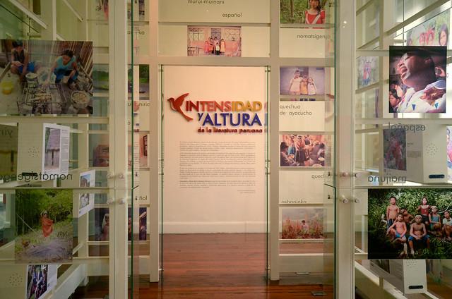 Intensidad y altura de la literatura peruana