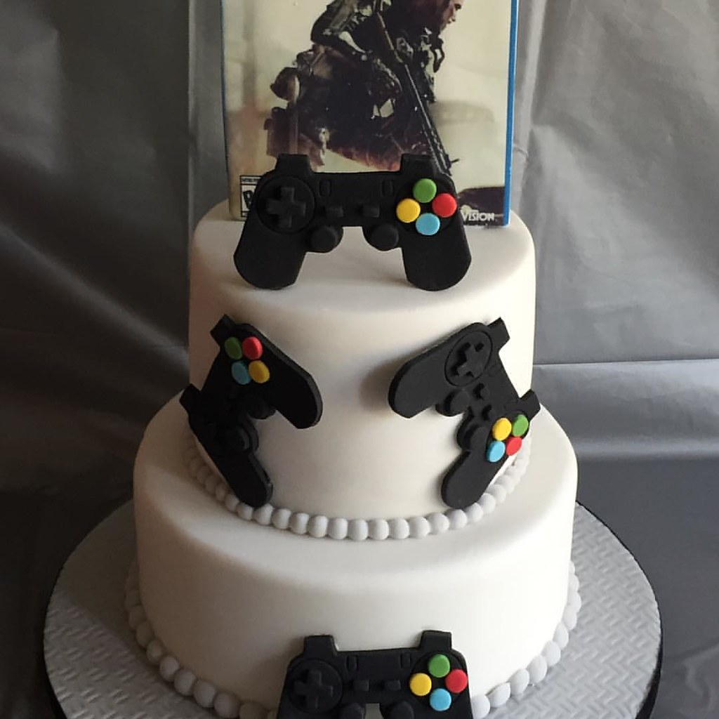 PlayStation Call Of Duty Cakemade For My Sons 14th