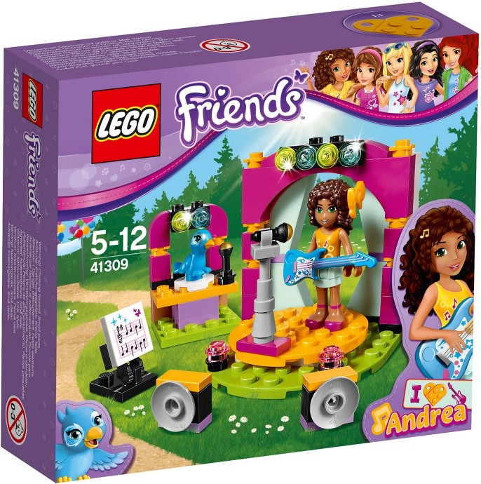 LEGO Friends 2017 - Andrea's Show (41309)