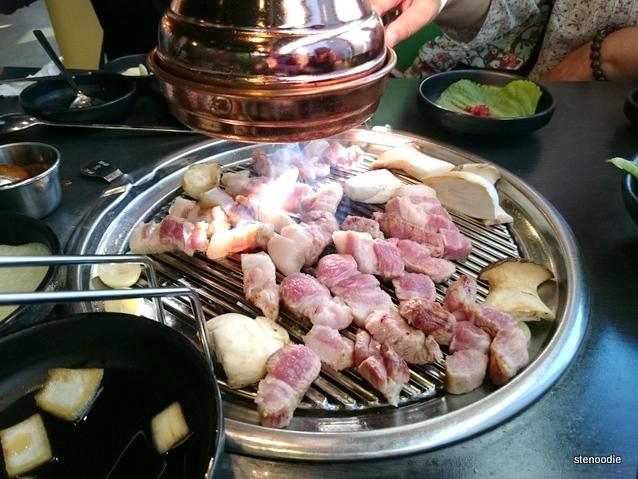 Pork BBQ set