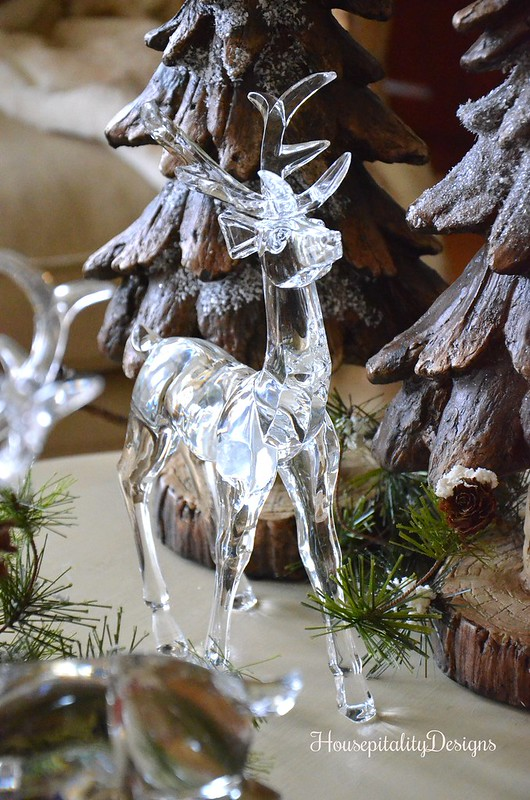 Woodland Christmas Vignette - Crystal Deer - Housepitality Designs