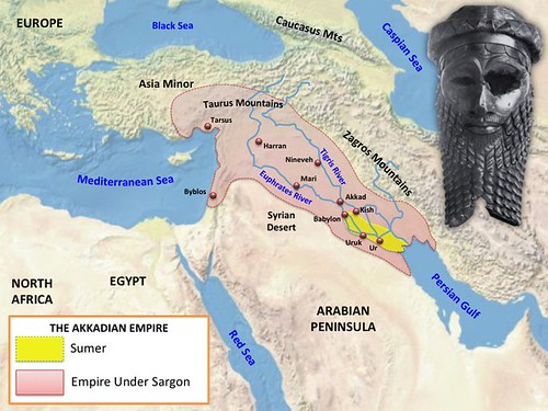 Akkadian-Empire-Map | Patrick Gray | Flickr