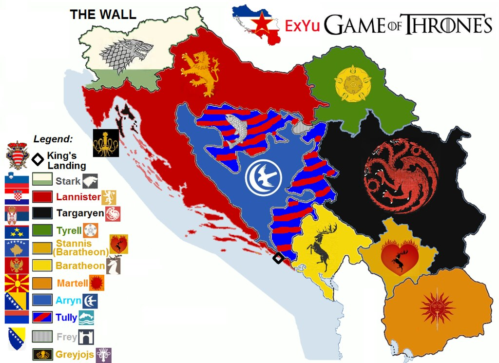 Game of thrones ex yugoslavia map flags funny misha blog flickr game of thrones ex yugoslavia map flags funny misha blog rs by janarani gumiabroncs Choice Image