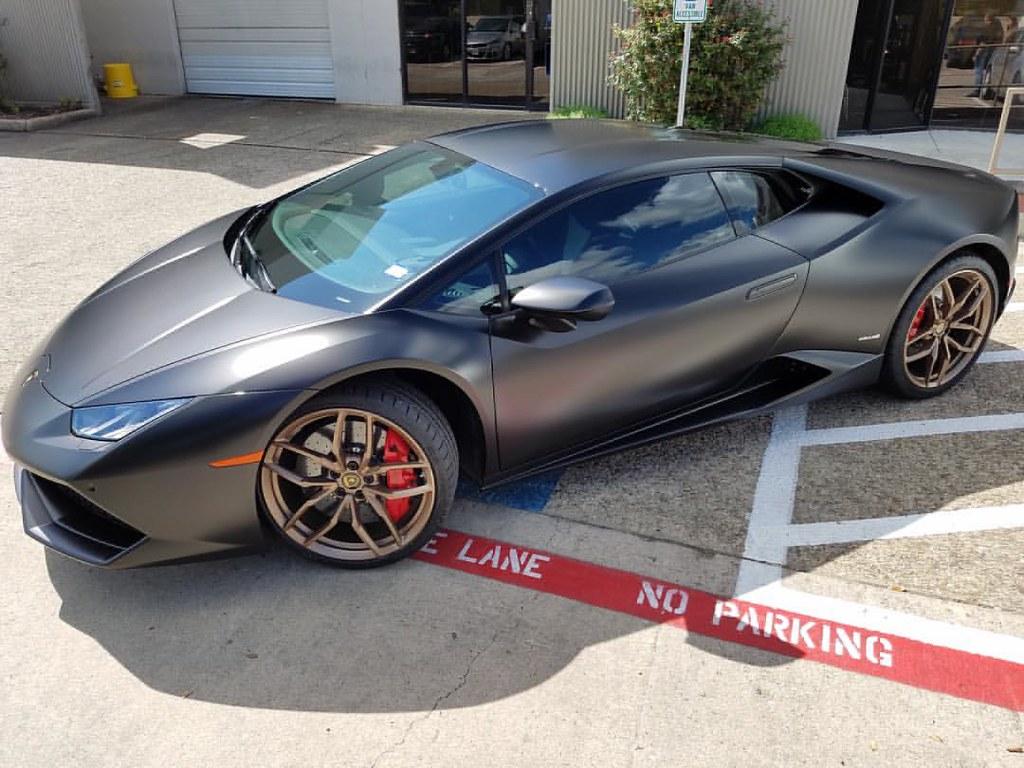 ... More STEALTH #Huracan From #XPEL #SanAntonio. #Lamborghini #Lambo  #clearbra