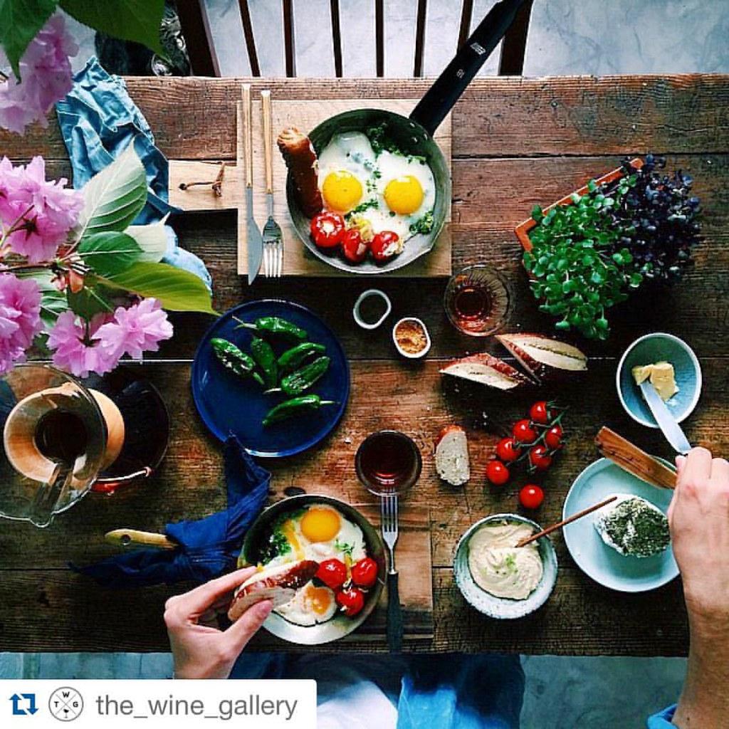 Bezaubernd Guten Morgen Frühstück Ideen Von Ein Wunderschönen Morgen. Was Gibt Es Bei