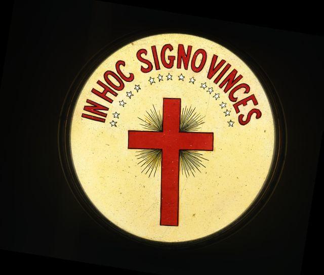 Knights Of Malta Magic Lantern Slide Passion Cross Flickr