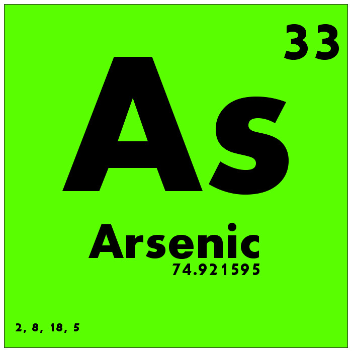 Periodic Table what family does arsenic belong to on the periodic table : 033 Arsenic - Periodic Table of Elements | Watch Study Guide… | Flickr