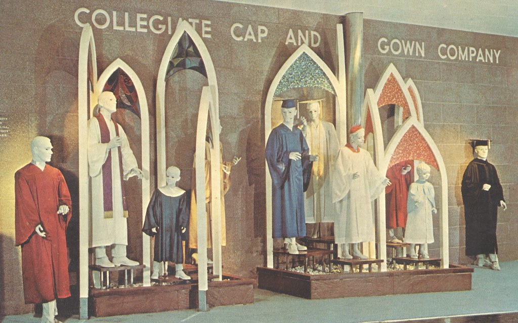 The Collegiate Cap and Gown Company Exhibit at the Hall of… | Flickr