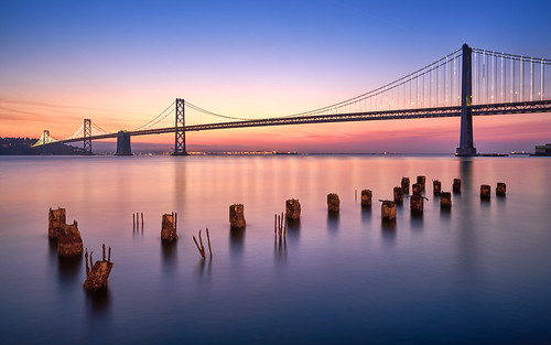 Morning Has Broken on the Bay Bridge | by denny.yang