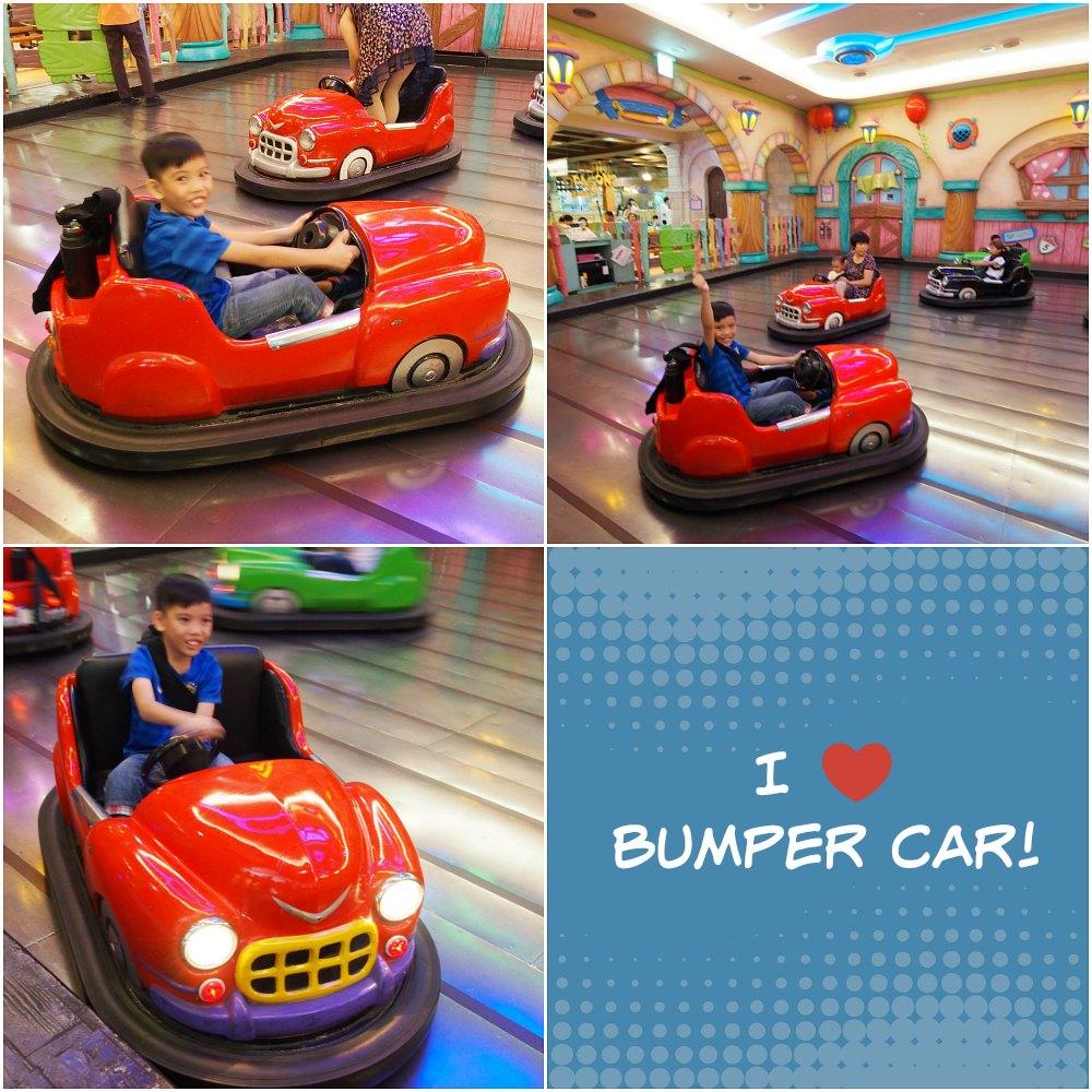 Bumper Car Lotte World