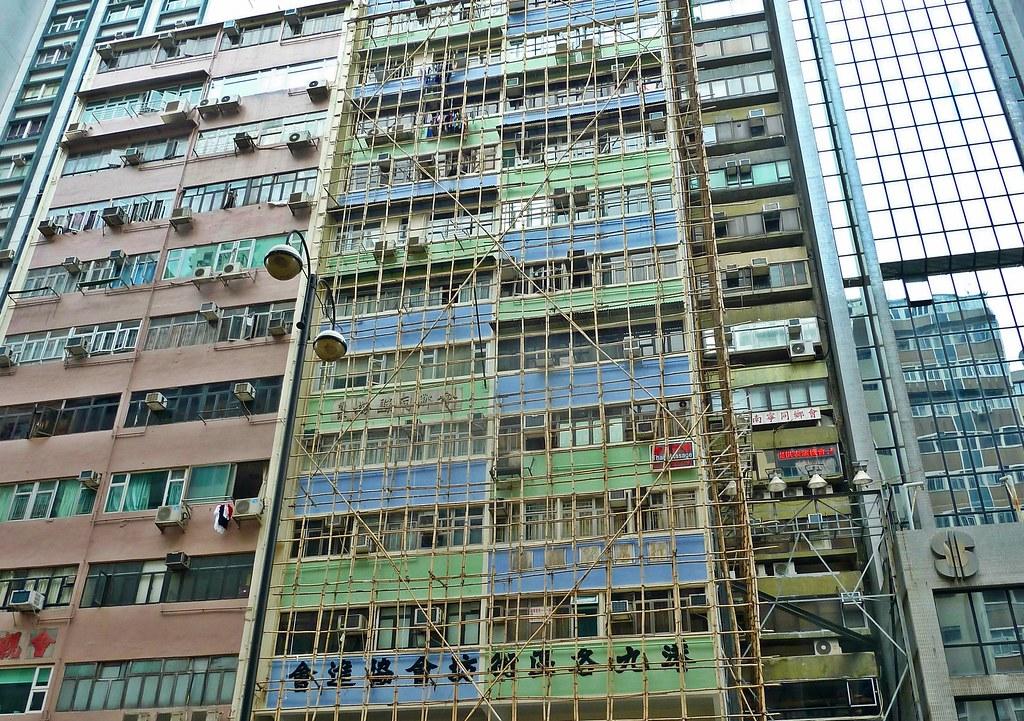 Bambus Gerustbau In Hong Kong Langi Zwofunf Flickr